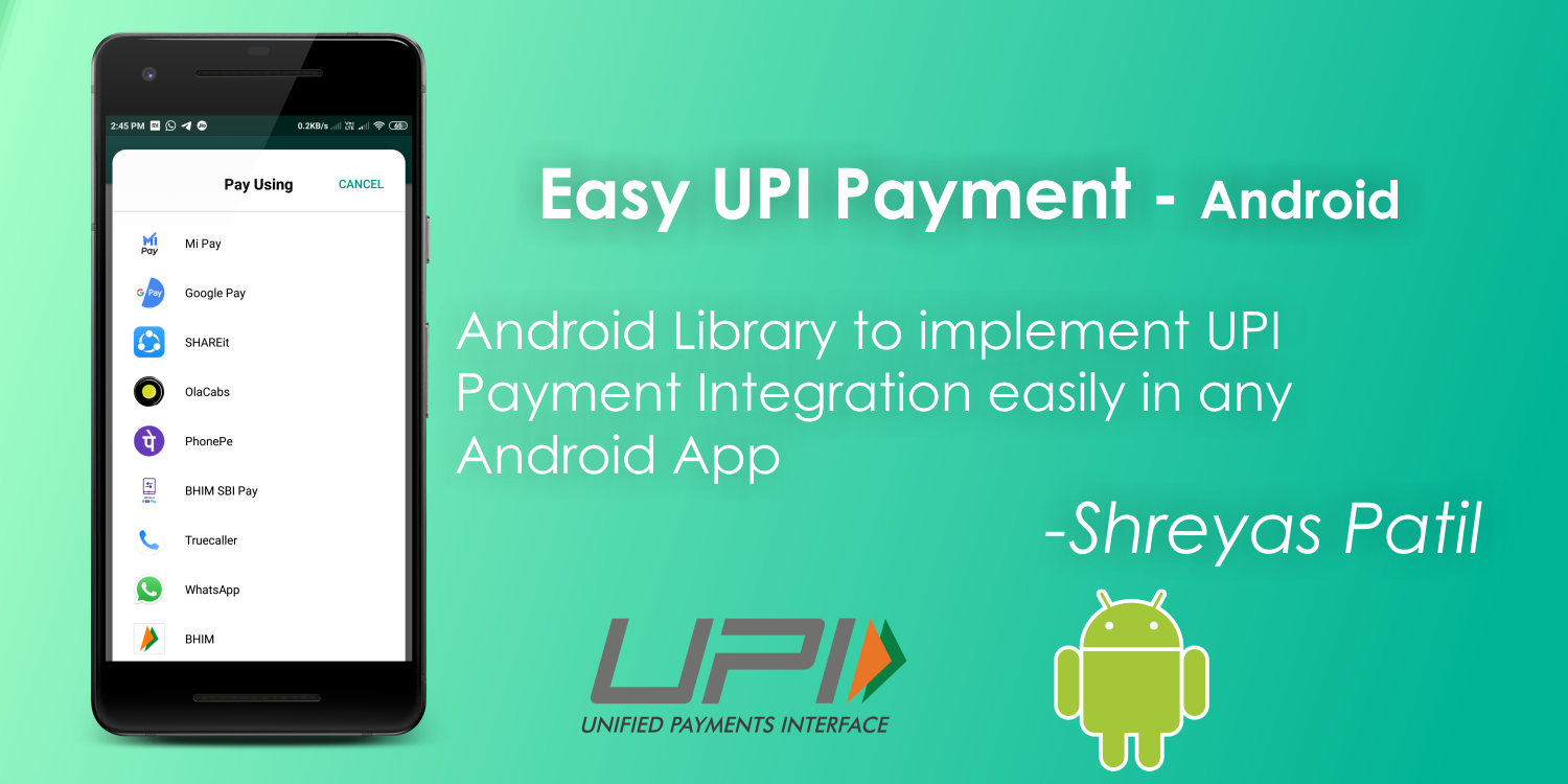 Easy UPI Payment