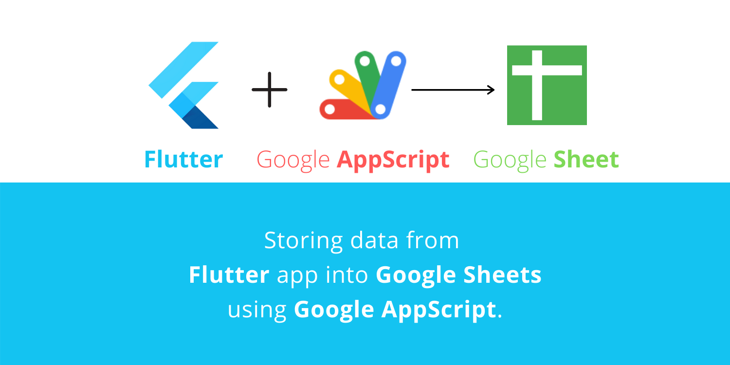 Flutter to Google Sheets
