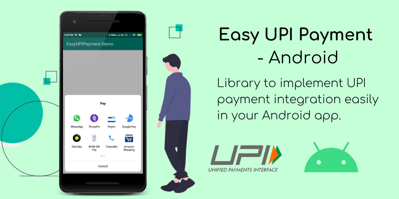 Easy UPI Payment Library
